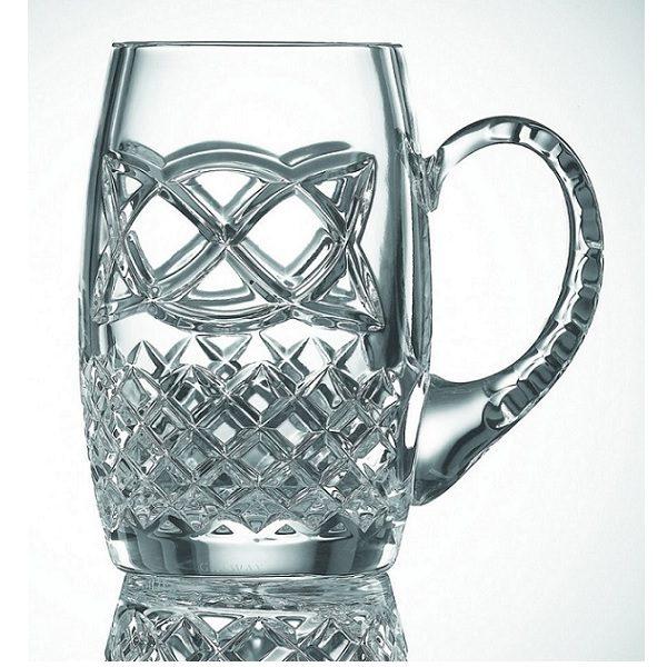 Galway Crystal Celtic Tankard