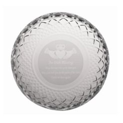 Galway Crystal Irish Blessing Plate