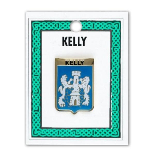 Wood Scottish Clan Crest Lapel Pin Badge