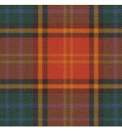 Irish County Roscommon Tartan