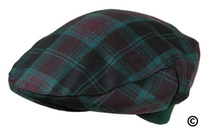 Irish County Carlow Tartan Cap