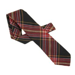 Firefighters Tartan Tie