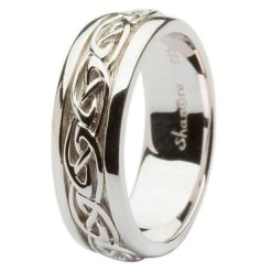 Gents Celtic Knot Band