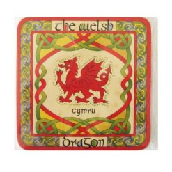 Welsh Dragon Coasters