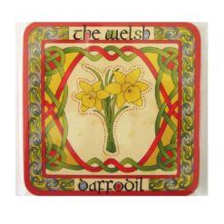 Welsh Daffodil Coasters