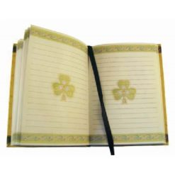 Irish Weave Notebook