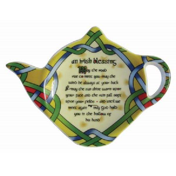 Irish Blessing Teabag Holder