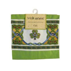 Apron with Shamrock Pocket