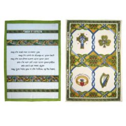 Tea Towel Set Blessing and Emblem