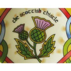 Scottish Thistle Teabag Holder