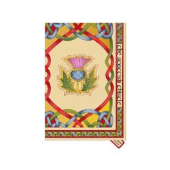 Scottish Emblems Tea Towel