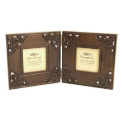 3.5 x 3.5 Double Photo Frame