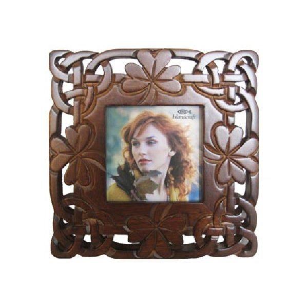 3 x 3 Shamrock Leaf Photo Frame