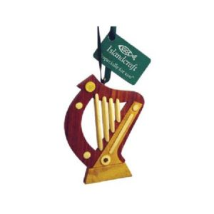 Irish Harp Ornament