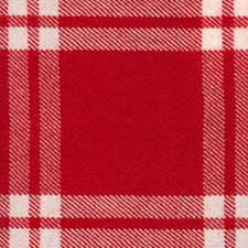 Menzies Dress Red & White Tartan