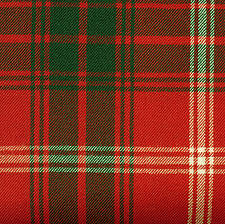 Rothesay District Red Tartan