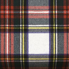 Stewart Dress Tartan White Dress Plaid Tartan Sash