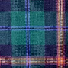 Young Tartan Sash Tie Scarf Scottish