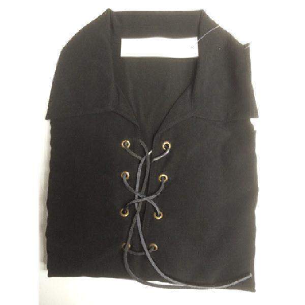 Black Microfiber Highland Shirt