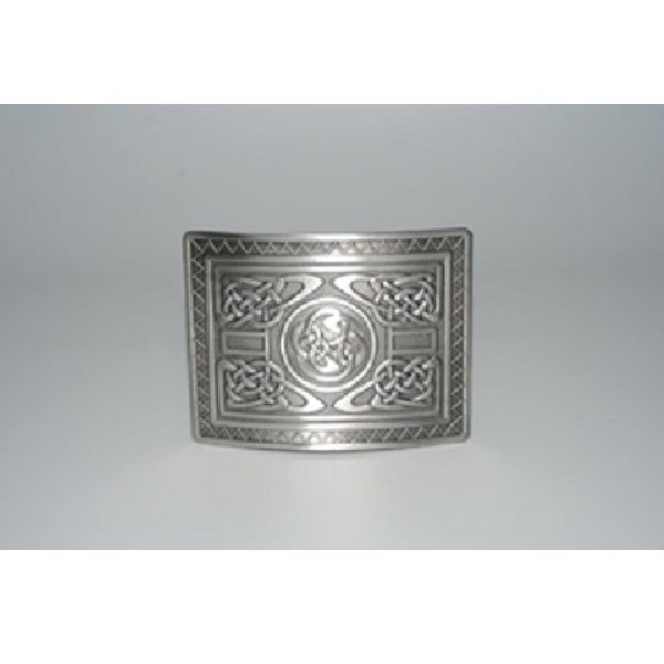 Antique Finish Highland Swirl Kilt Buckle