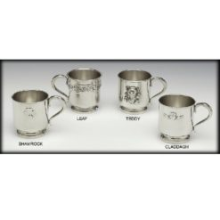 Claddagh Christening Cup