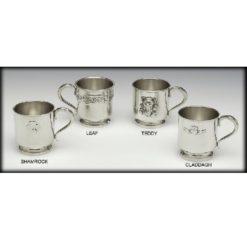 Claddagh Christening Cup