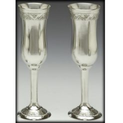 Celtic Champagne Flute Set