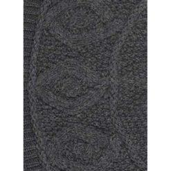 Charcoal Diamond Knit