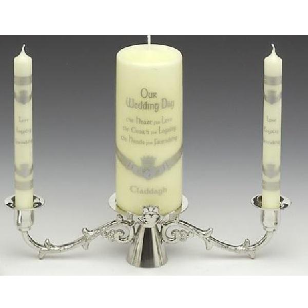 Claddagh Wedding Candlestick