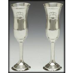 Claddagh Champagne Flute Set