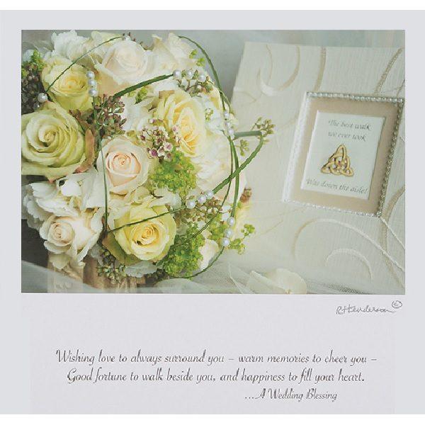 Wedding Blessing Framed Print