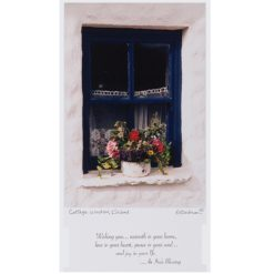 Cottage Window Framed Blessing