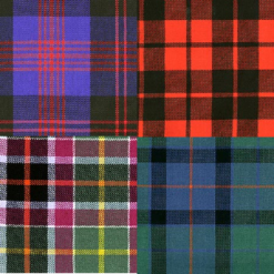 Scottish District Tartans