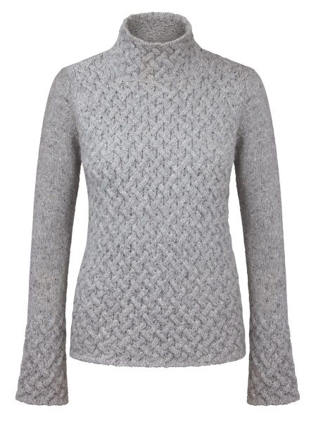 Trellis Sweater Light Grey