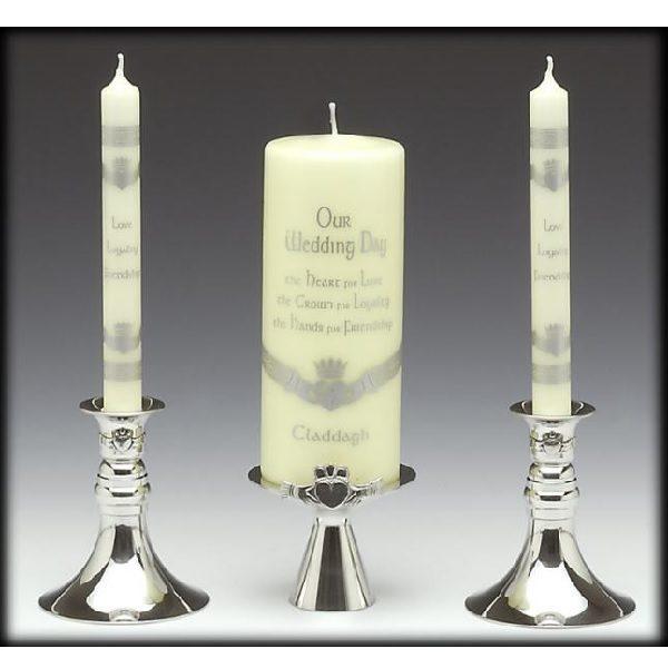 Claddagh Unity Candle Set