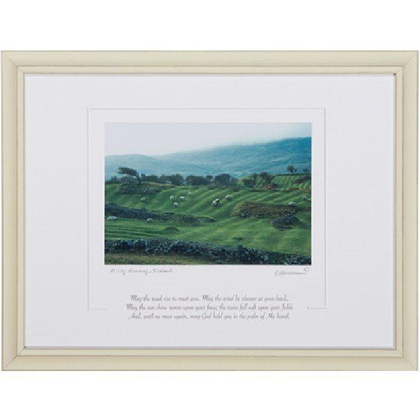 The Irish Blessing Framed Print