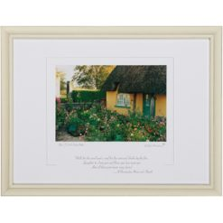 An Irish Garden Framed Blessing