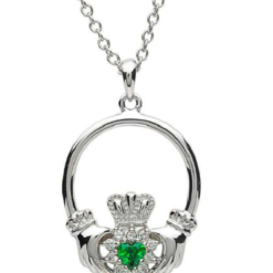 Cluster Claddagh Necklace