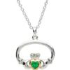 Oval Claddagh Necklace
