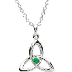 Green Gem Trinity Necklace