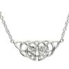 Celtic Knot Plate Necklace