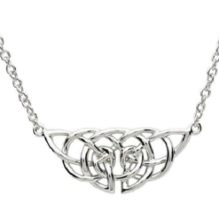 Celtic Knot Plate Necklace