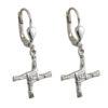 St. Brigid's Cross Drop Earrings