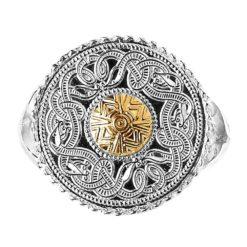 Celtic Warrior Signet Ring