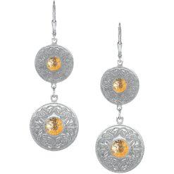 Celtic Warrior Sterling Silver Doubles Earringss