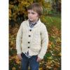 Boy's Shawl Cardigan Irish Sweater