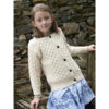 Child's Merino Cardigan Irish Sweater Kids
