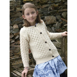 Child's Merino Cardigan Irish Sweater Kids