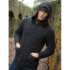 Gents' Hooded Knit Jacket