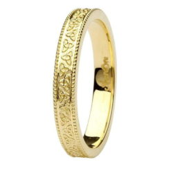 Yellow Gold Trinity Knots Band389